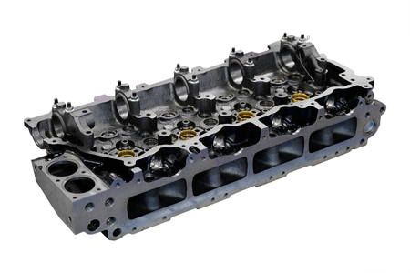 cylinder head isolated