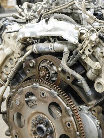 Ein Teil Eines Automotors Lizenzfreie Fotos, Bilder Und Stock ...