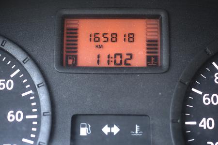 Het beeld van het dashboard