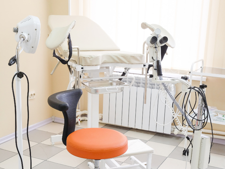 Interior of a gynecology office