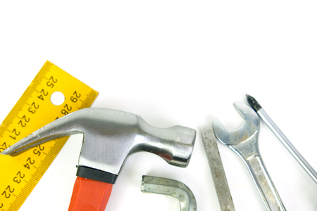 Set of the different tools