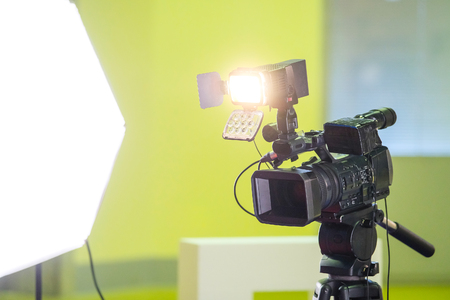 Image of video camera Stock fotó