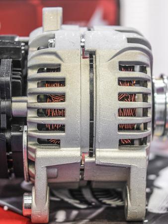 Car electric generator Stock Photo