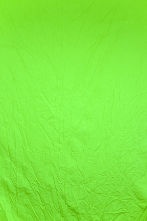 Background with the image of green fabric Stock Photo