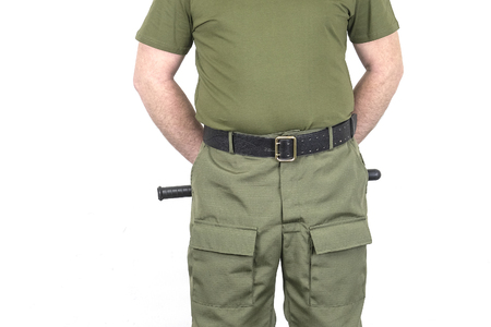 Uniform of a security officer