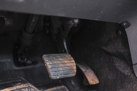 image of Car Pedal Block Close up