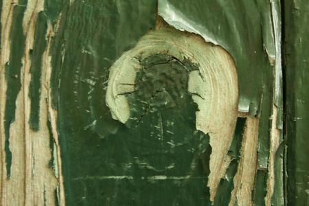 Peeling paint on wood Stock Photo