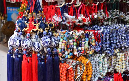 amulet: Bunch of ceramic Chinese amulet