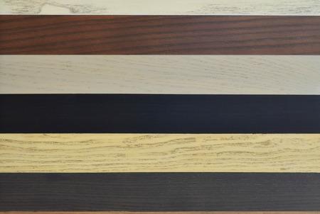 painted wood: Brown tone strip painted wood