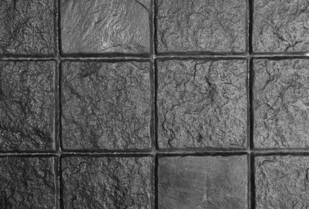 Dark Grey Cobble Stone Pavement