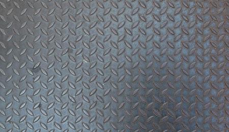 diamond plate: Rustic diamond steel plate texture and background Stock Photo