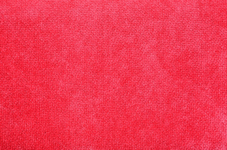 Pattern of red flannel texture and background Stock Photo