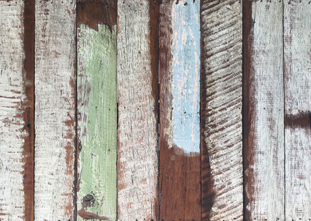 Pattern of grunge and old painted wooden panel for background and texture