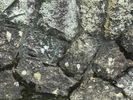 Grunge granite stone wall background and  texture