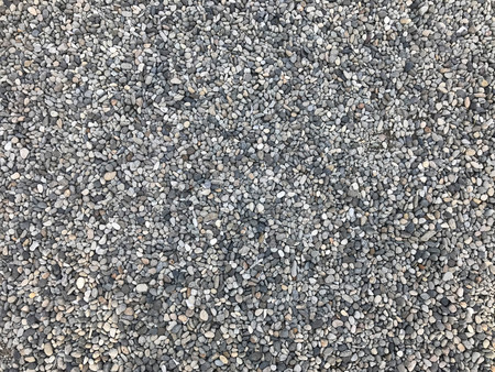 Gray pebble stone for background and texture