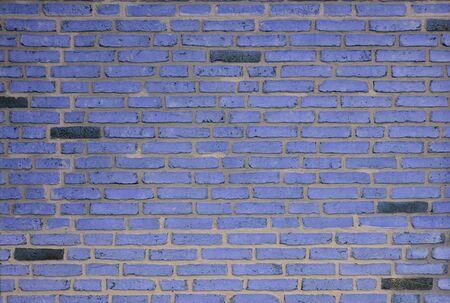 Grunge Violet Mansory Brick Wall Background