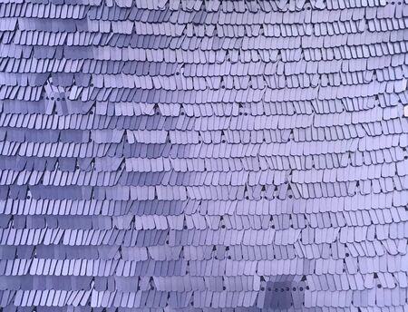 Rectangle glitter violet sequin texture and textile Reklamní fotografie