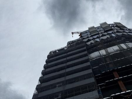 constructing: Constructing building, Tokyo