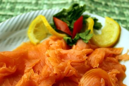smoked salmon: smoked salmon