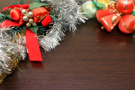 festoons: Christmas decorations