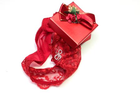 red panties: red panties