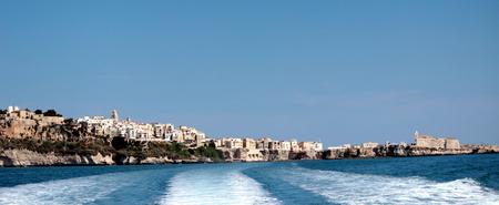 puglia: sea of Puglia Stock Photo