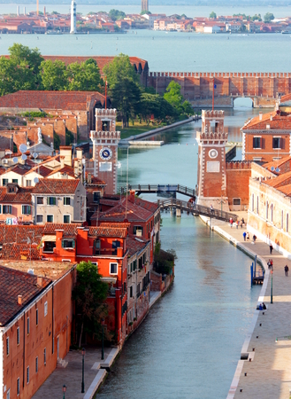 channels in Venice photo