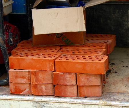drilled: bricks