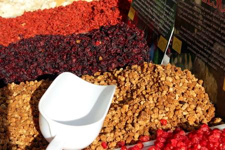 frutas secas: frutos secos