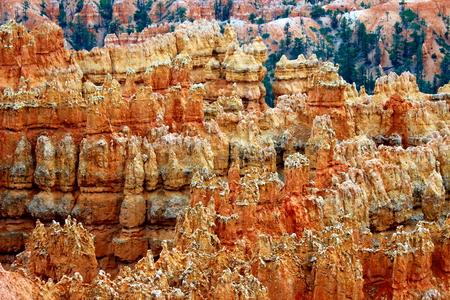 navajo land: Bryce Canyon Stock Photo