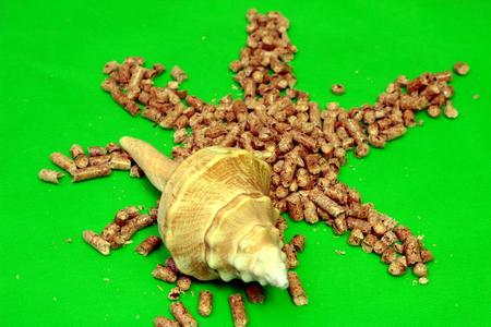 pellet: pellet Stock Photo