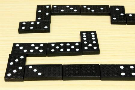 dominoes: dominoes Stock Photo