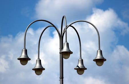lamp post Фото со стока
