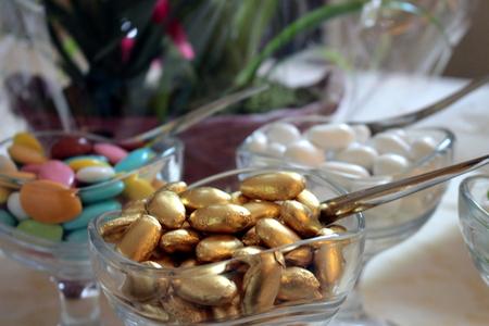 Confettis en or