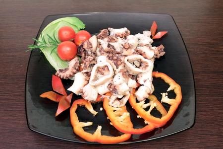 octopus salad Banque d'images