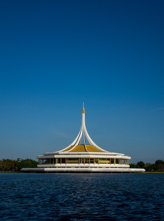 Ratchamongkol tower Suanlung Rama 9 Thailand, 24th Dec 2016 This place are public park for excersise and relaxing every evening and weekend holiday.