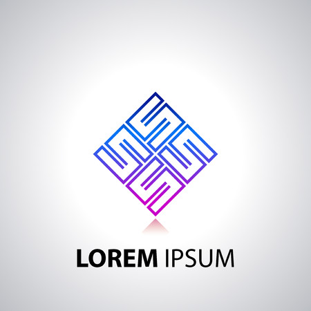 Logotype design or icon template