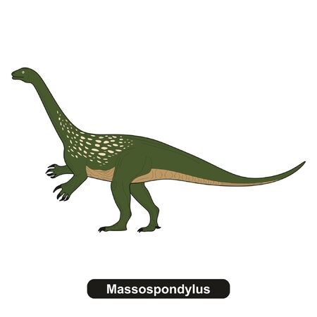 Massospondylus Dinosaur Extinct Animal