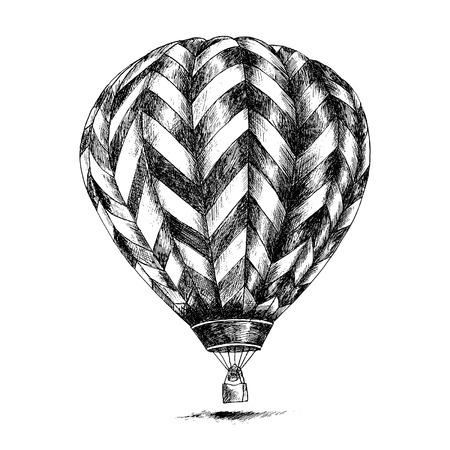 Hot Air Balloon Stock Illustratie