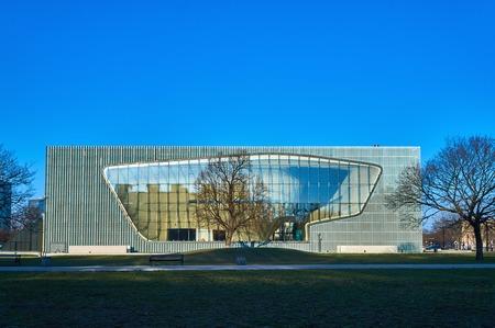 Museum der Geschichte der polnischen Juden POLIN, Warschau, Polen, Frühjahr