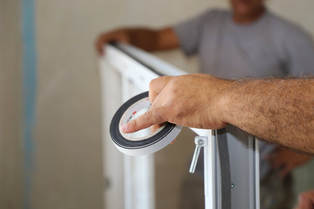 Installing a platic window