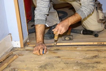 Restoring wood floor