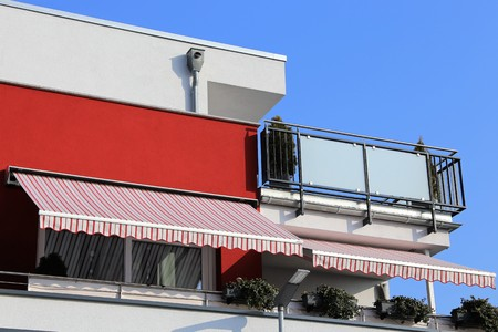 New balcony awning