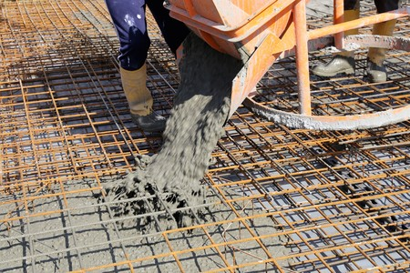 concreting: Concreting basePlate