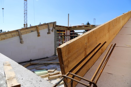 Timber construction, roof construction