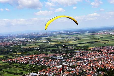 poblíž: Paraglid létání u Heidelbergu