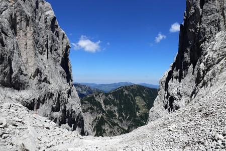Tour in the Kaiser Mountains, Tyrol, Austria