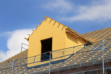 Construction site: Roof with dormer