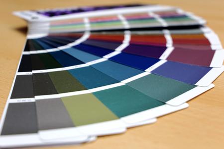 RAL color chart, color fan deck