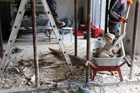 Renovatie van een oud gebouw